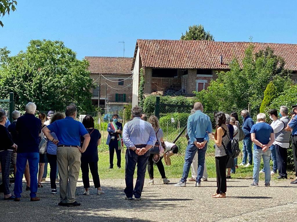 Inaugurato l'orto sociale naturale di Castelnuovo Belbo - giugno 2020