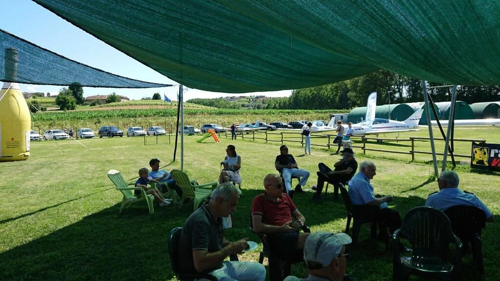 Inaugurazione campo volo Boglietto