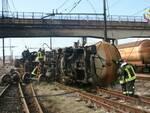 incidente ferroviario viareggio foto vigilfuoco.it