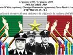 locandina anniversario esecuzione tre carabinieri