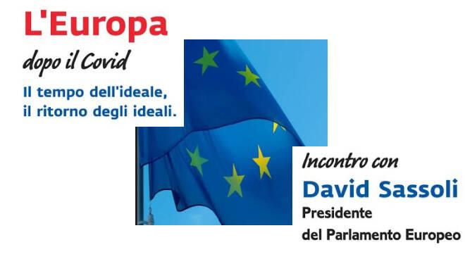Mercoledì 1° luglio incontroin streaming con il Parlamento Europeo