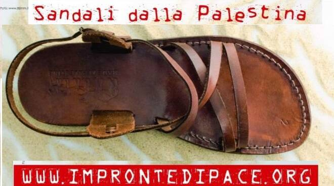 sandali dalla palestina bottega altromercato