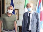 Alba: il sindaco di Alba Carlo Bo ha salutato il Prefetto di Cuneo Giovanni Russo