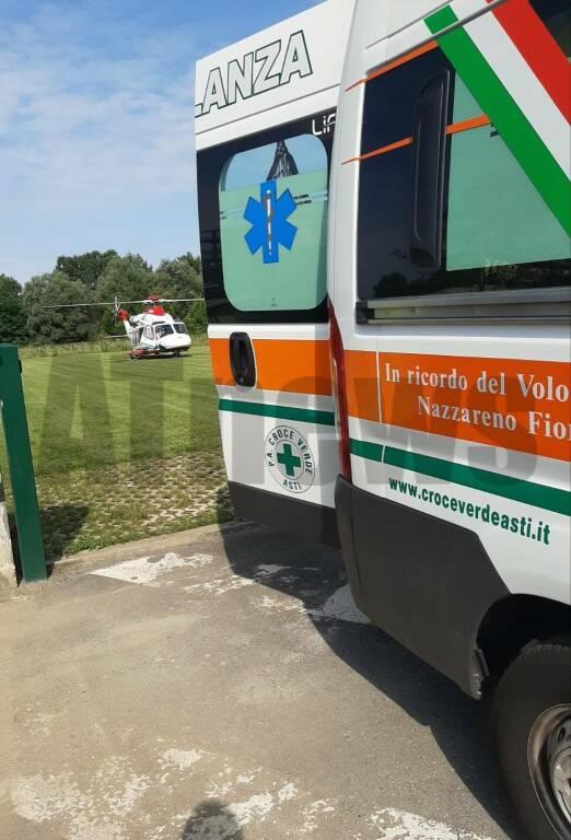 ambulanza elisoccorso croce verde