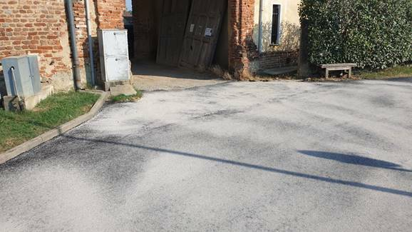 asfaltatura di Borgo Valdichiesa villanova d'asti