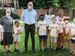 Asti, il Sindaco visita centri estivi dell'Istituto Madre Mazzarello