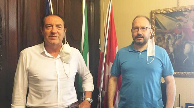 Asti, ricevuto in Municipio il Direttore dell'Agenzia delle Entrate