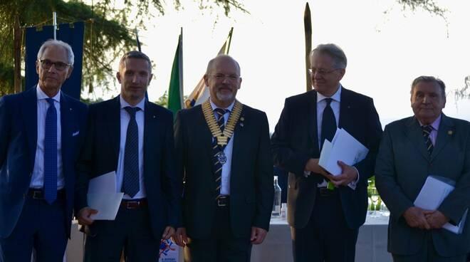 Consegna del premio Rotary Club di Alba e insediamento del nuovo Presidente Enrico Strada