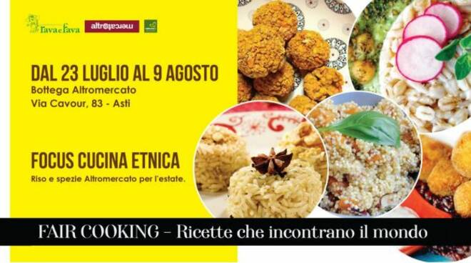 cucina etnica altromercato
