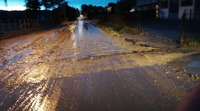 Danni maltempo strade astigiano