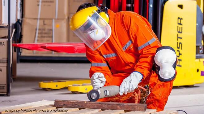 fabbro, artigiano, industria, sicurezza sul lavoro,