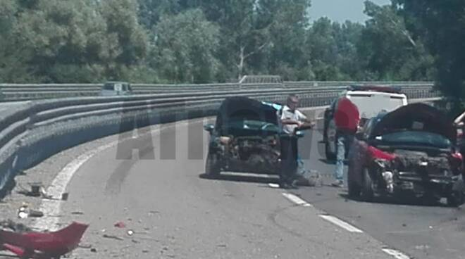 incidente in tangenziale 05072020