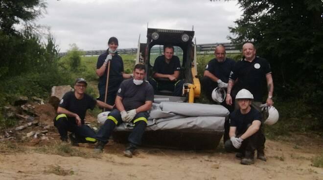 intervento protezione civile caniglie