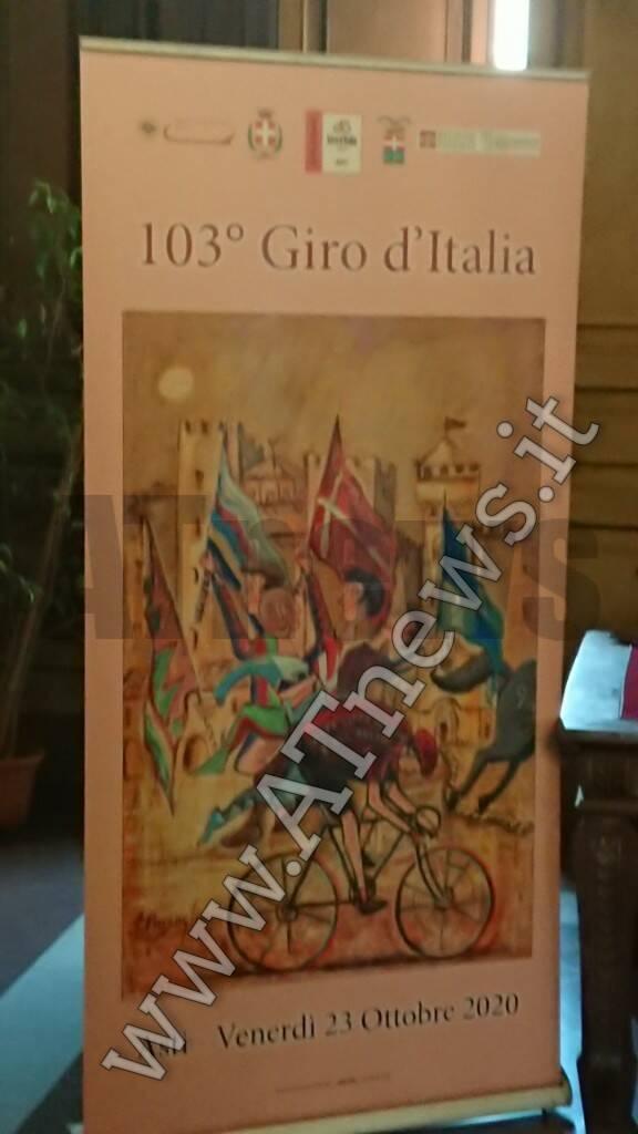 Logo tappa Asti giro d'italia 2020 pinsoglio