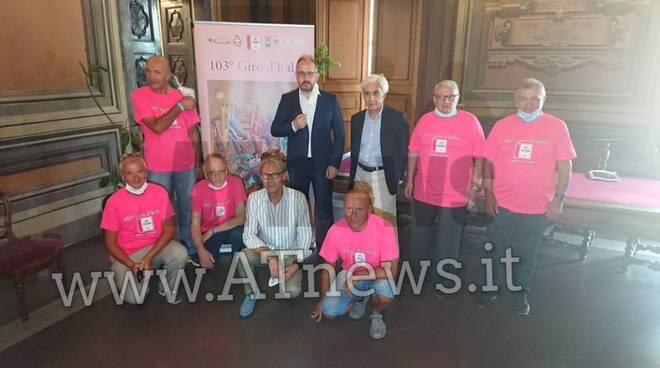 Presentazione giro d'italia 2020 Asti