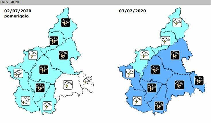 previsioni precipitazioni 02072020