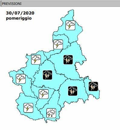 previsioni precipitazioni 30072020
