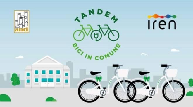 progetto tandem bici in comune