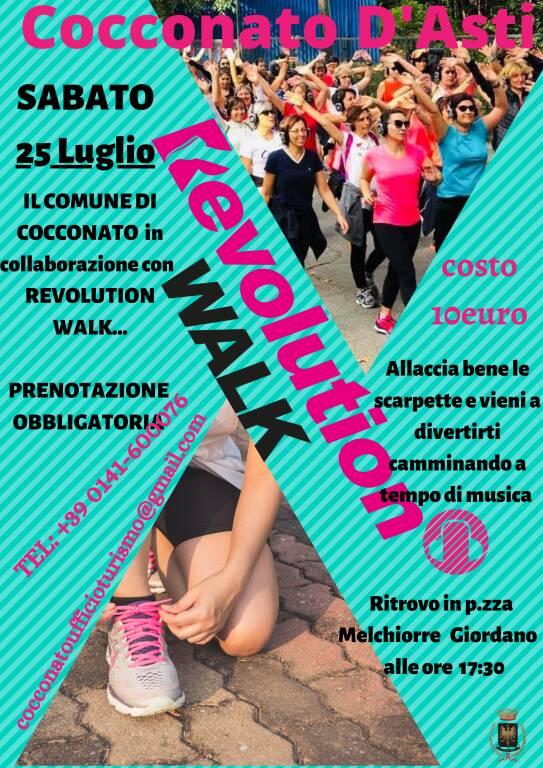 revolution walk cocconato d'asti