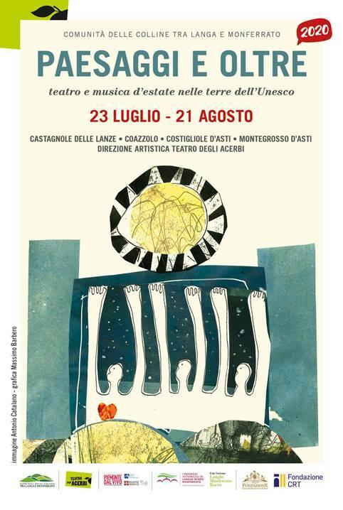 """Ritorna il festival """"Paesaggi e oltre. Teatro e musica d'estate nelle terre dell'UNESCO"""