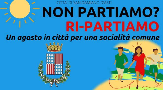 San Damiano d'Asti, ad agosto laboratori educativi gratuiti per bambini