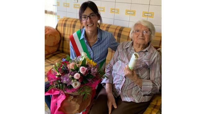 105 anni piea agostina candelo