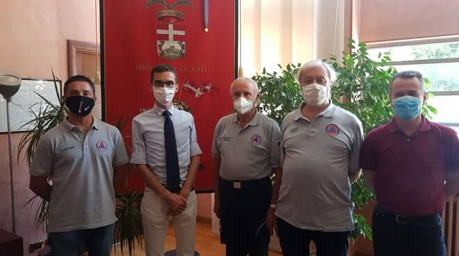 Asti, Paolo Lanfranco incontra il nuovo direttivo di Volontariato di Protezione Civile