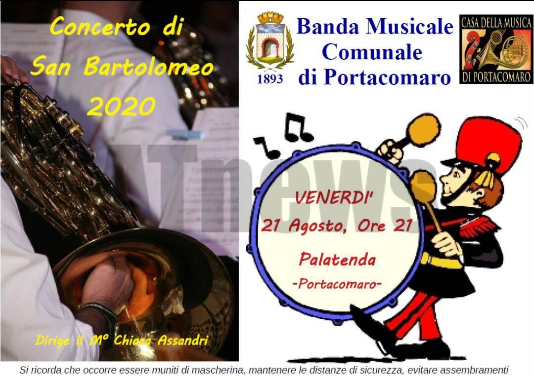 Concerto di San Bartolomeo 2020: La musica non si ferma