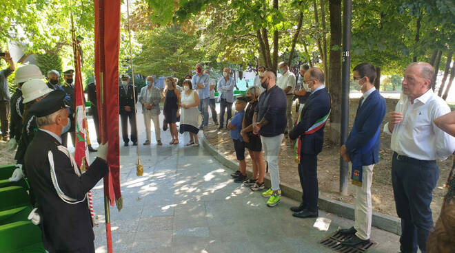 Commemorazione Giardini Alganon 2 agosto 2020