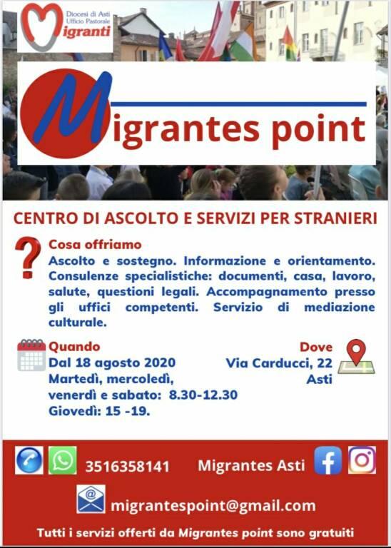 Migrante Point Asti