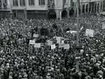 Piazza san secondo 1 maggio foto storica
