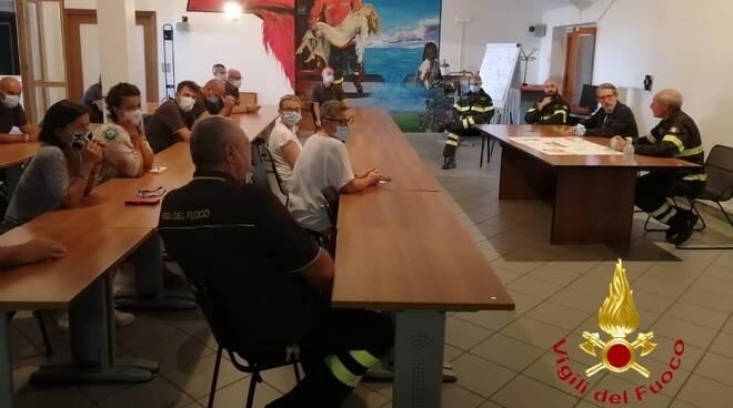 visita comando vigili del fuoco questore di Asti Sebastiano Salvo