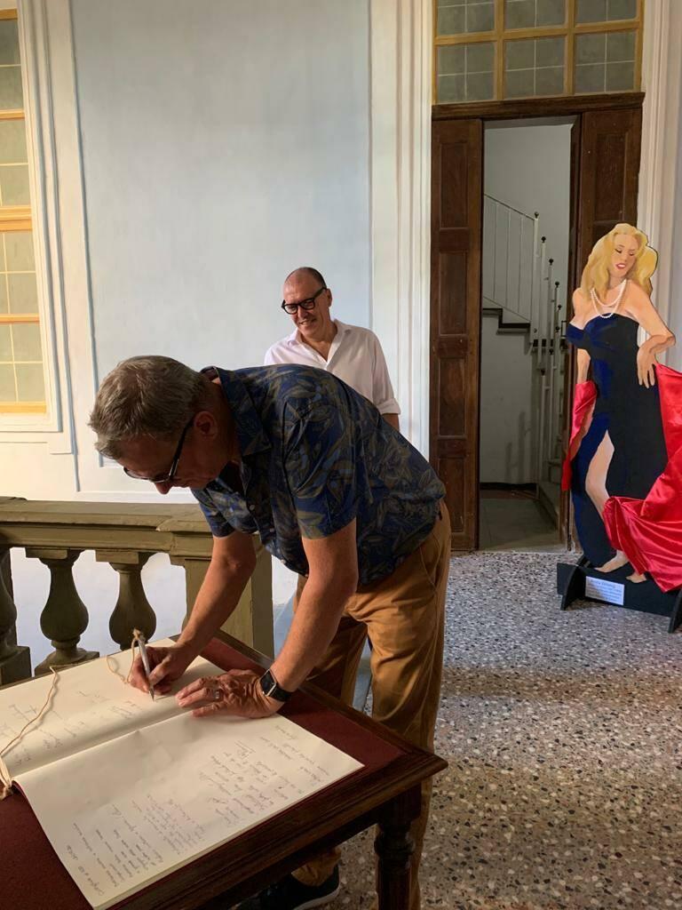 visita sindaco città gemellata costigliole d'Asti