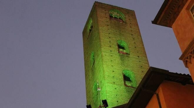 alba luci verdi SLA