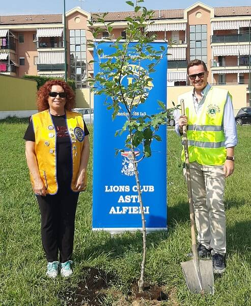 alberi donati lions asti