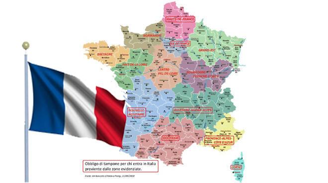 arrivi dalla francia
