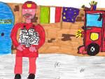 Asti, didattica per bambini all'Archivio di Stato con i Vigili del Fuoco