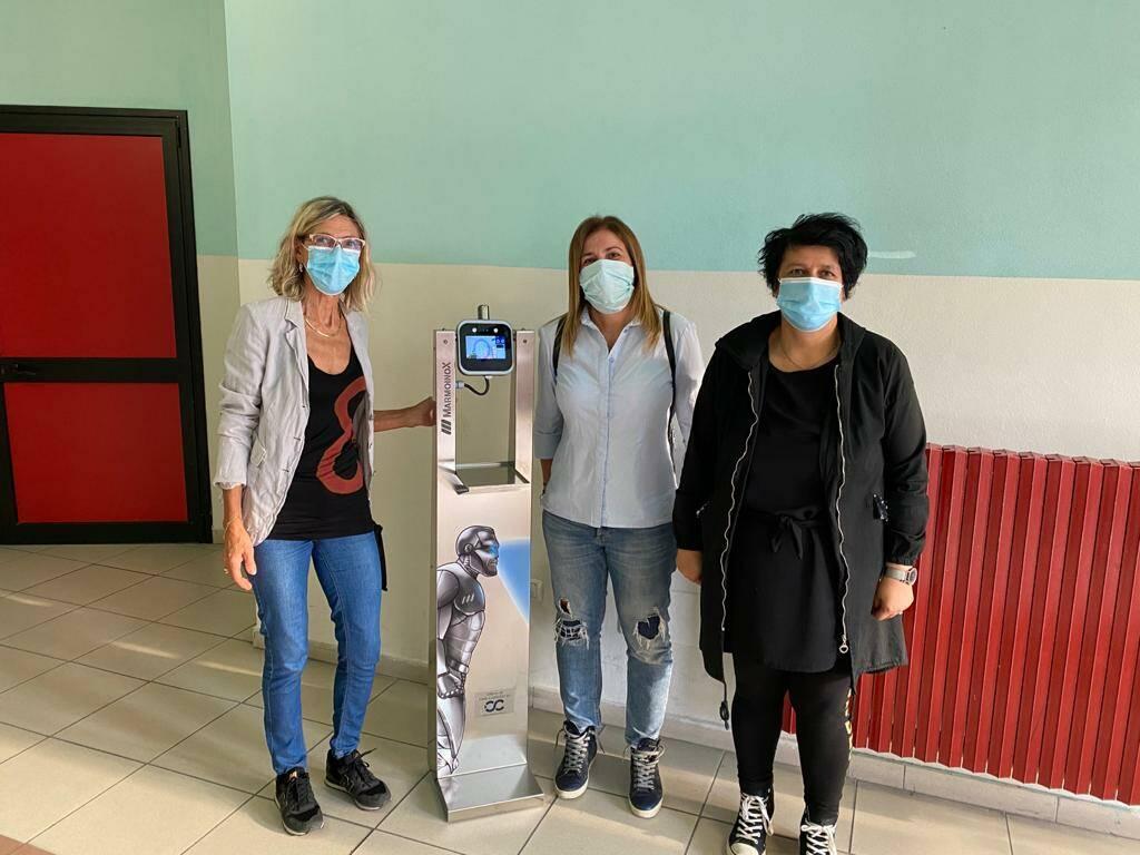 Cinque nuovi termoscanner in dono agli studenti canellesi