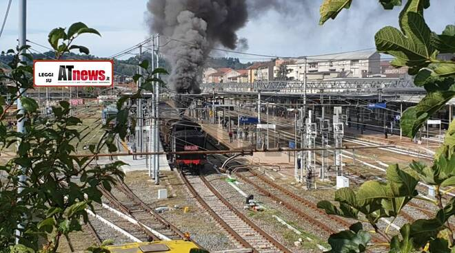 fumo treno storico