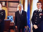 Il Prefetto di Asti ha ricevuto la visita del nuovo Capo Ufficio Comando dei Carabinieri Bosini