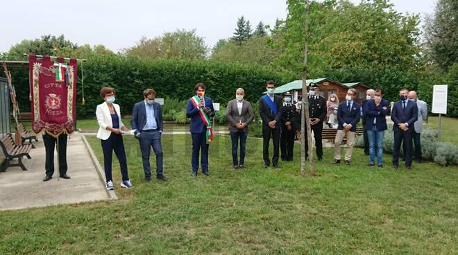 inaugurazione giardino dei giusti nizza monferrato