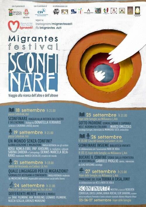Migrantes festival: Sconfinare