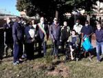 """Nei giardini di via Omedè è stato piantato un """"verde melograno"""""""