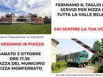 Nizza Monferrato, incontro in piazza per la difesa dei servizi essenziali in Sanità e Trasporti