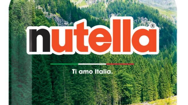 """Nutella: """"Ti amo italia"""""""