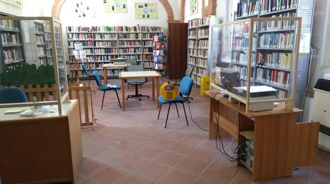biblioteca fontanile