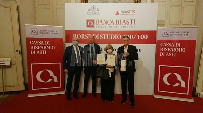 Cerimonia di consegna delle Borse di studio Fondazione Cr Asti 2019-2020