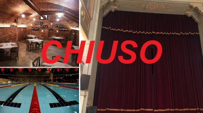 chiuso ristoranti piscina teatro