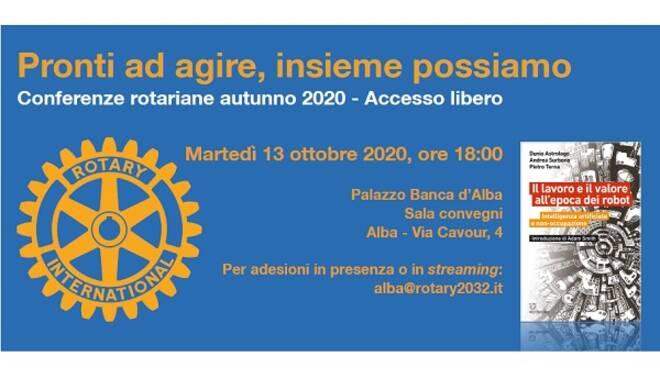 conferenza rotary club alba