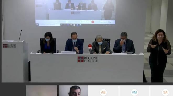 conferenza stampa piemonte test rapidi